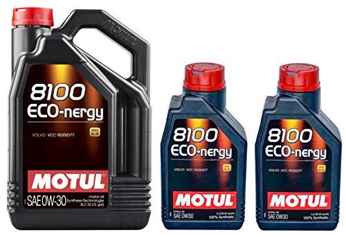 Motul 8100 Eco-nergy 0W30 volledig synthetische motorolie Volvo VCC95200377, 7 liter
