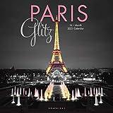 Graphique Paris Wall Calendar, 16-Month 2021 Wall Calendar with Historic Paris Landmark Photographs, 3 Languages & Major Holidays, 2021 Calendar, 12' x 12' (CY67221)