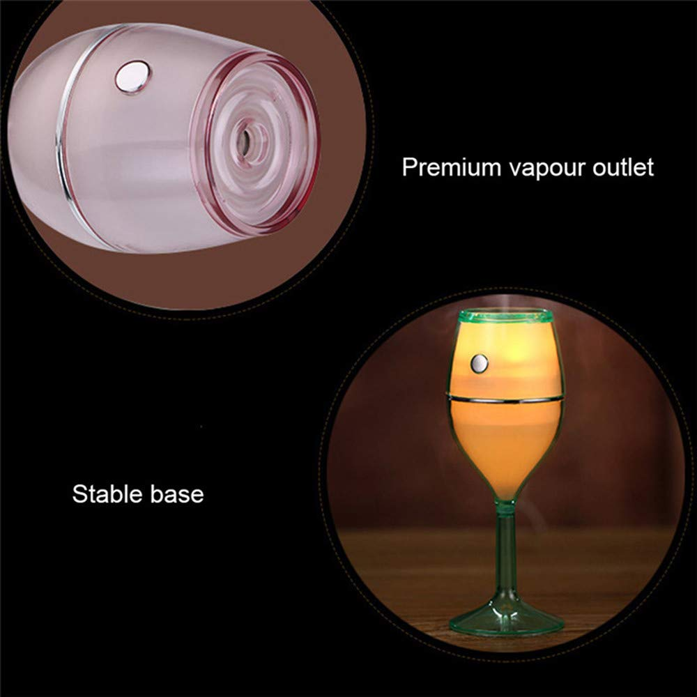 Amazon.es: Mini Copa de Vino Humidificador de Aire del Coche ...
