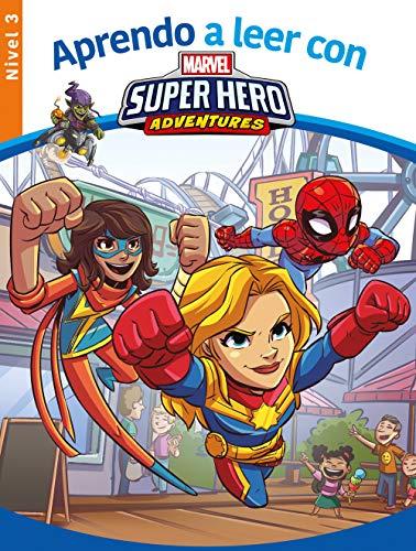 Aprendo a leer con los superhéroes Marvel - Nivel 3 (Aprendo a leer con Marvel)