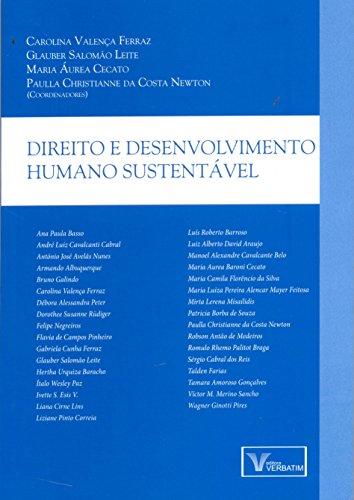 Direito e Desenvolvimento Humano Sustentável