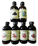 OliveNation Set of 6 Berry Extracts - Set of 6 x 4 ounces bottles - Blueberry, Blackberry, Cherry, Cranberry, Raspberry, Strawberry - baking-extracts-and-flavorings