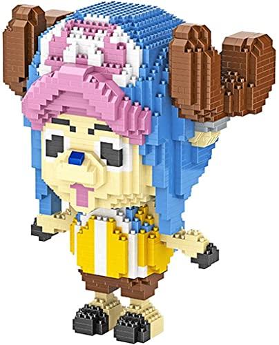NXNX Mini Bausteine Spielzeug 3D Modell Puzzle Micro Ziegelsteine DIY Toys Geschenk Für Kinder Erwachsene, 1985Pcs