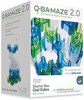 MindWare CSG-QBAM Q-BA-Maze Starter Box Colours Construction Toy, Cool Colors
