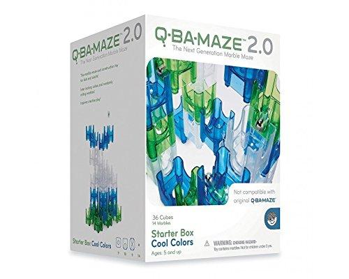 MindWare CSG-QBAM Q-BA-Maze - Caja de iniciación de Colores, Juguete de construcción, Colores Frescos