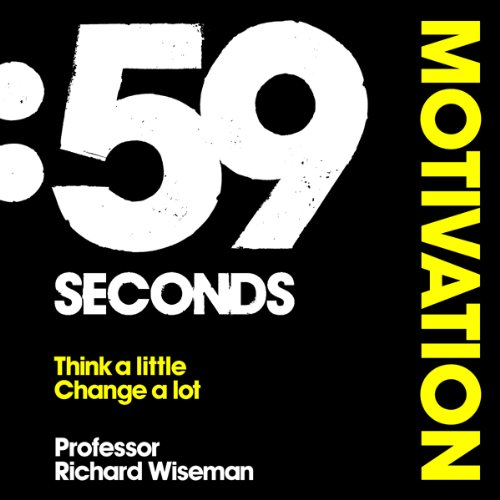59 Seconds: Motivation audiobook cover art