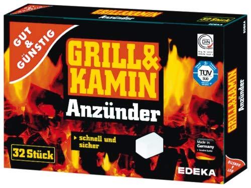 EDEKA Grill & Kamin Anzünder-Kohleanzünder,32 Stück