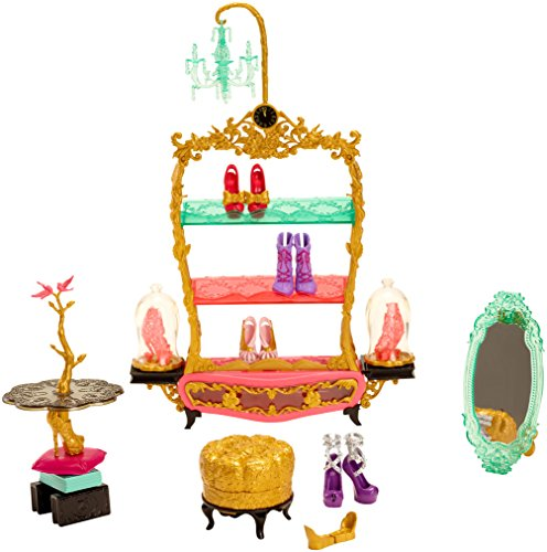Ever After High Book End Hangout Glass Slipper Shop Playset