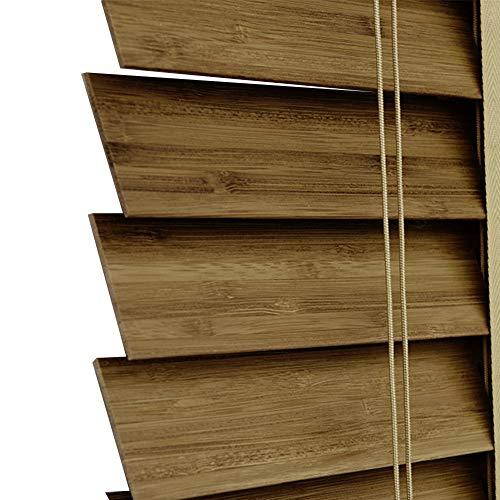 ZHongWei- Bambus Jalousien Wohnzimmer Schlafzimmer Studie benutzerdefinierte Schattierung Sonnenaufzug Bambus Vorhänge Isolierung Trennwand Bambus Rollos 4 Farbe Multi-Size optional