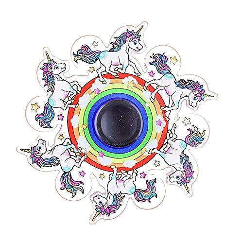 Ranana Run The Fingertip Spinning Top - Juguete para aliviar el estrés Dinámico Fingertip Spinning Top Run Animado, Dinámico con la punta de los dedos Spinner, Giroscopio dinámico para niños current