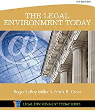 Best the legal environment today 8th edition Reviews