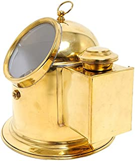Old Modern Handicrafts Binnacle Compass Collectible, Large