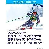 アルペンスキー FIS ワールドカップ 19/20 男子 ジャイアントスラローム ヒンターシュトーダー/オーストリア