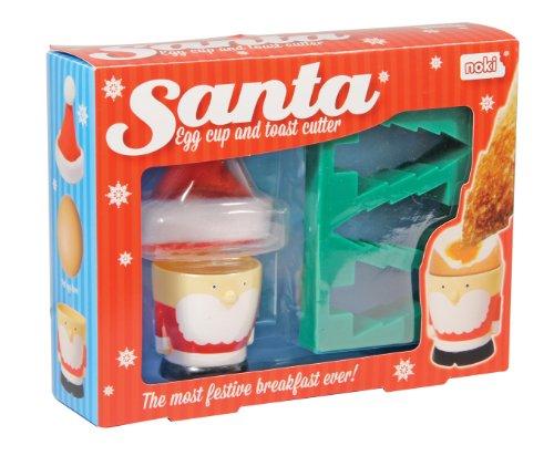 NOKI Santa Coquetier et emporte-pièces pour Toast