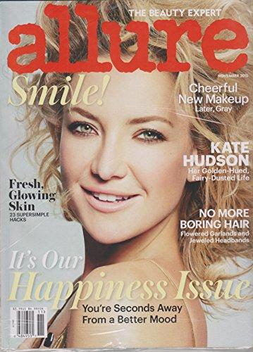 Allure November 2015 Kate Hudson Her Golden Hued, Fairy Dusted Life
