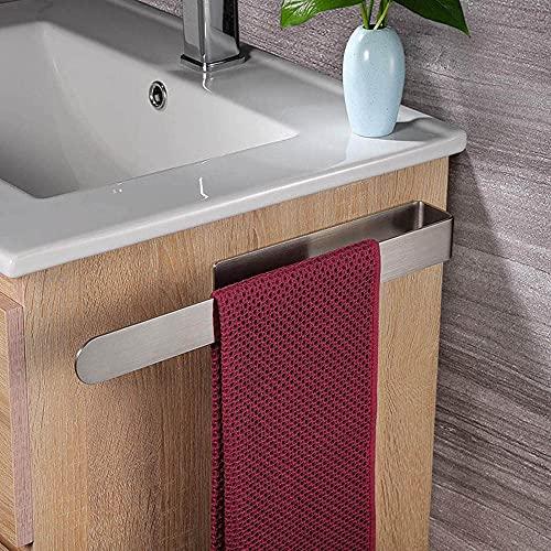 Hodzeed Handtuchhalter für Badezimmer Ohne Bohren - 304 Edelstahl Kleber Selbstklebend Handtuchstange 37CM