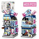 joylink Jeux de Construction, Salon de Coiffure Blocs de Construction Building Blocks Toys 403 Pièces Ensemble de Blocs et Briques Jouets Créatif Éducatifs pour Les Enfants Garçons Filles