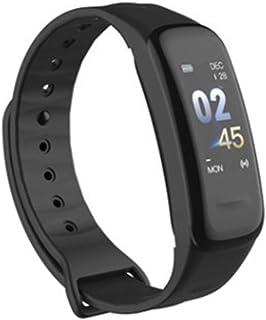 zrshygs C1 Plus Smartband Pantalla a Color Monitor de Ritmo cardíaco Rastreador de Ejercicios Muñequera