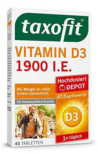 taxofit® Vitamin E Kapseln zur Prävention von Vitamin-E-Mangel (1x 60 Kapseln)