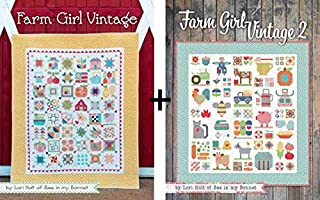 2 Sewing/Quilting Books by Lori Holt: Farm Girl Vintage Plus Farm Girl Vintage 2!