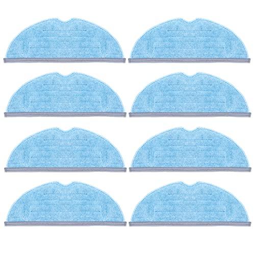 8 unids fregona almohadillas de paño reemplazo para xiaomi roborock S7 t7s t7 plus Partes de aspirador