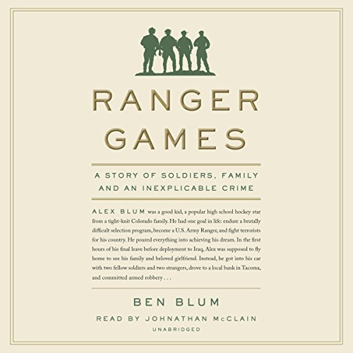 Ranger Games audiobook cover art