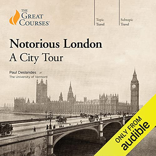 Download Notorious London: A City Tour audio book
