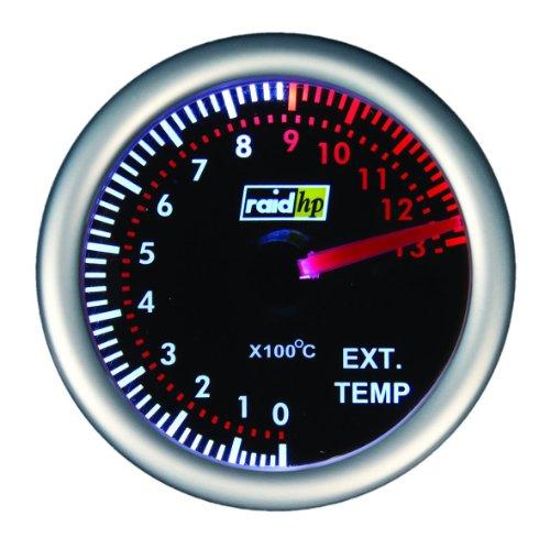 Raid HP 660409 Zusatzinstrument Abgastemperaturanzeige Night Flight