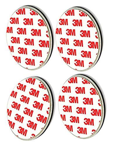2 tot 20 stuks 3M premium magneethouder magneetbevestiging voor rookmelders van elke fabrikant 7cm Durchmesser