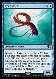 Magic: the Gathering - Reef Worm (016/337) - Commander 2014