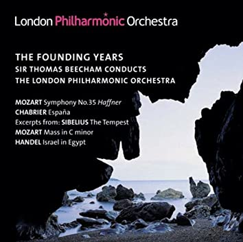 Orchestral Music - Sibelius, J. / Mozart, W.A. / Handel, G.F. / Chabrier, E. (London Philharmonic, Beecham) (The Founding Years) (1934-1939)