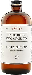 JACK RUDY COCKTAIL CO Classic Tonic Syrup 17 Fluid Ounces (1 bottle)