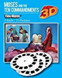 ViewMaster 3Reel Set - Moses and the Ten Commandments - 21 3D Classic Clay Figure Images by 3Dstereo ViewMaster