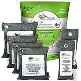 RegenerAir Natural Air Purifier Deodorizer Bags 6 Pack 100% Activated Bamboo Charcoal