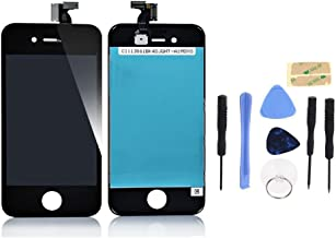 Apple iPhone 4S Black LCD & Digitizer Touch Screen Assembly Replacement Part