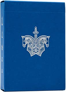 Knights Playing Cards - Blue