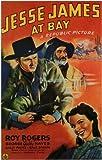 Jesse James At Bay Poster Drucken (27,94 x 43,18 cm)