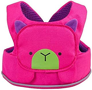 Trunki ToddlePak - Fuss Free Toddler Walking Reins & Kids Safety Harness – Betsy Bear (Pink)