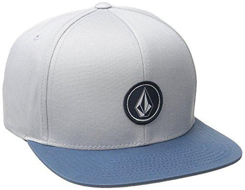 Volcom Herren Cap Quarter Twill, Grey Blue, One Size, D5511561GBL