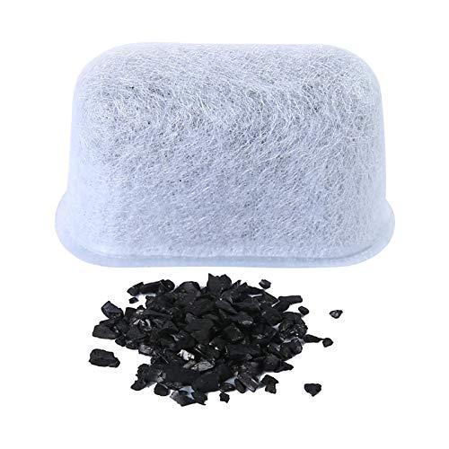 Tongdejing 12 filtros de repuesto de carbón activo para cafeteras