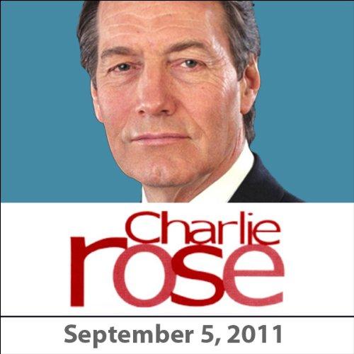 Charlie Rose: Chuck Close, Oliver Sacks, Richard Serra, Eric Kandel, and Ann Temkin, September 5, 2011 audiobook cover art