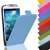 Eximmobile - Funda de piel sintética para Sony Xperia XZ2 Compact, color azul