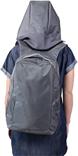 Waterproof Double Shoulder Backpack Outdoor Travel Large Capacity With Hat Laptop Backpack