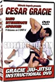 World Martial Arts Cesar Gracie Brazilian Jiu-Jitsu Instructional 9 Volumes on 3 DVD's!