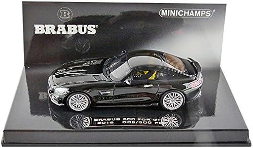 Minichamps 437032520 Brabus 600 A AMG GT 2015 Ma ab 1 43 Schwarz