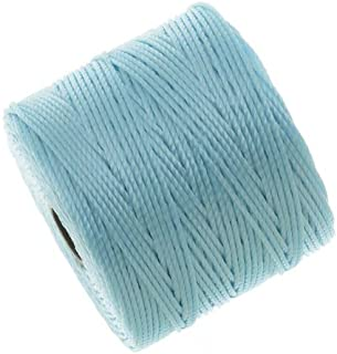 S-Lon Super-Lon Cord - Size #18 Twisted Nylon - Sky Blue / 77 Yard Spool