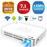 Best Android Projectors - Mini Projector WOWOTO A5 100ANSI Android 7.1 Portable Review