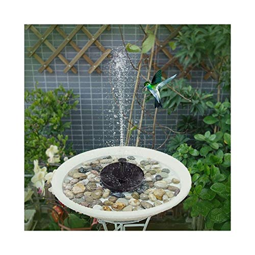 XINXI-YW Conveniente Panel de Agua 7V Fuente Solar de riego Solar Bomba de la Piscina Flotante Pond baño del pájaro de la Bomba de la Fuente Estanque de jardín Piscina Decorativo