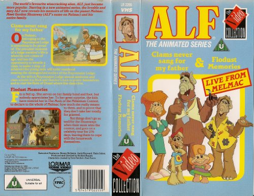 ALF - The Animated Series - Clams Never Sang For My Father / Flodust Memories