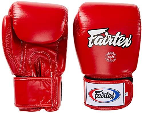 Fairtex Tight Fit Boxhandschuhe Leder Rot 14 oz.